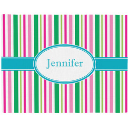 Grosgrain Stripe Placemat (Fabric) (Personalized)