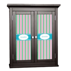 Grosgrain Stripe Cabinet Decal - Small (Personalized)