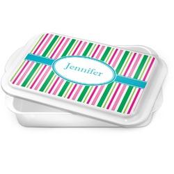 Grosgrain Stripe Cake Pan (Personalized)