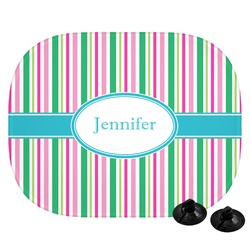 Grosgrain Stripe Car Side Window Sun Shade (Personalized)