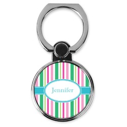 Grosgrain Stripe Cell Phone Ring Stand & Holder (Personalized)
