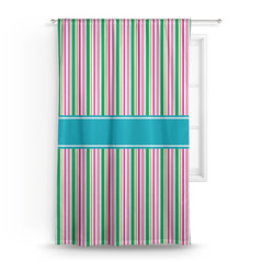 Grosgrain Stripe Curtain (Personalized)