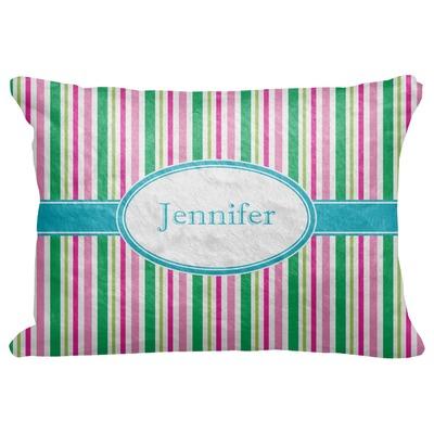 "Grosgrain Stripe Decorative Baby Pillowcase - 16""x12"" (Personalized)"