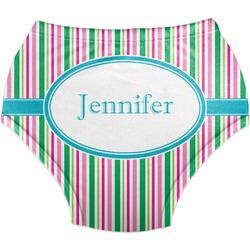 Grosgrain Stripe Diaper Cover (Personalized)