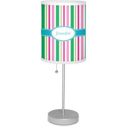 """Grosgrain Stripe 7"""" Drum Lamp with Shade (Personalized)"""