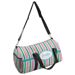 Grosgrain Stripe Duffel Bag - Multiple Sizes (Personalized)