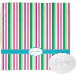 Grosgrain Stripe Wash Cloth (Personalized)