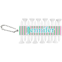 Grosgrain Stripe Golf Tees & Ball Markers Set (Personalized)