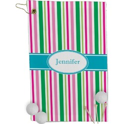 Grosgrain Stripe Golf Towel - Full Print (Personalized)