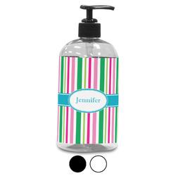 Grosgrain Stripe Plastic Soap / Lotion Dispenser (Personalized)