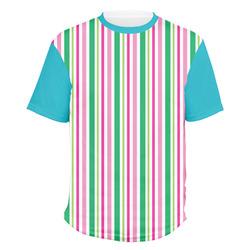 Grosgrain Stripe Men's Crew T-Shirt (Personalized)