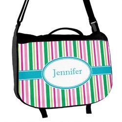 Grosgrain Stripe Messenger Bag (Personalized)