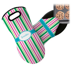 Grosgrain Stripe Neoprene Oven Mitt (Personalized)