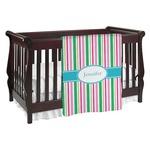 Grosgrain Stripe Baby Blanket (Personalized)