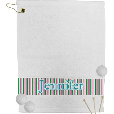 Grosgrain Stripe Golf Towel (Personalized)