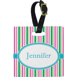 Grosgrain Stripe Luggage Tags (Personalized)