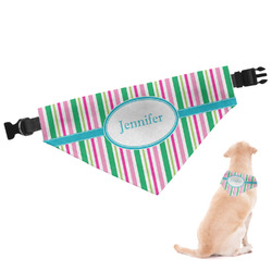 Grosgrain Stripe Dog Bandana (Personalized)