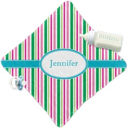 Grosgrain Stripe Security Blanket (Personalized)
