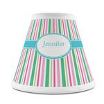 Grosgrain Stripe Chandelier Lamp Shade (Personalized)
