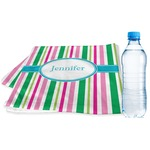 Grosgrain Stripe Sports & Fitness Towel (Personalized)