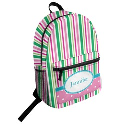 Grosgrain Stripe Student Backpack (Personalized)
