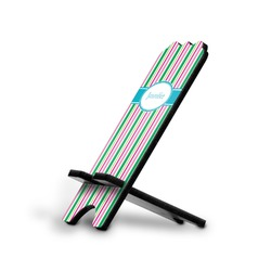 Grosgrain Stripe Stylized Phone Stand (Personalized)