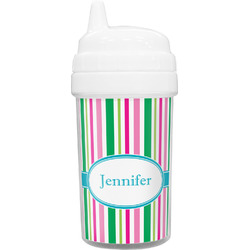 Grosgrain Stripe Sippy Cup (Personalized)