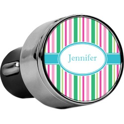 Grosgrain Stripe USB Car Charger (Personalized)