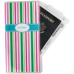 Grosgrain Stripe Travel Document Holder