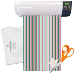 "Grosgrain Stripe Heat Transfer Vinyl Sheet (12""x18"")"