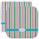 Grosgrain Stripe Facecloth / Wash Cloth (Personalized)