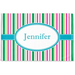Grosgrain Stripe Woven Mat (Personalized)