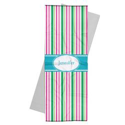 Grosgrain Stripe Yoga Mat Towel (Personalized)