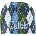 Blue Argyle Baby Hat (Beanie) (Personalized)