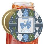 Blue Argyle Jar Opener (Personalized)