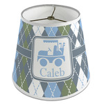 Blue Argyle Empire Lamp Shade (Personalized)