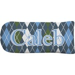 Blue Argyle Putter Cover (Personalized)