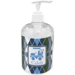 Blue Argyle Soap / Lotion Dispenser (Personalized)
