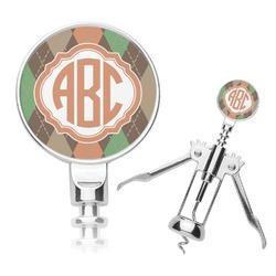 Brown Argyle Corkscrew (Personalized)
