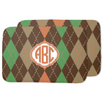 Brown Argyle Dish Drying Mat (Personalized)