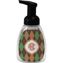 Brown Argyle Foam Soap Dispenser (Personalized)