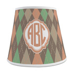 Brown Argyle Empire Lamp Shade (Personalized)