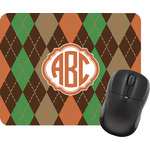 Brown Argyle Mouse Pads (Personalized)