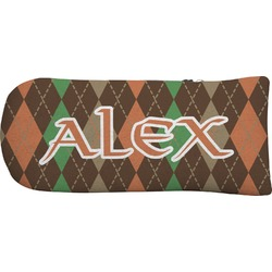 Brown Argyle Putter Cover (Personalized)