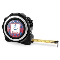 Buoy & Argyle Print Tape Measure - 16 Ft (Personalized)