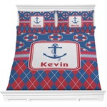 Buoy & Argyle Print Comforters (Personalized)