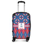 Buoy & Argyle Print Suitcase (Personalized)