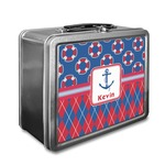 Buoy & Argyle Print Lunch Box (Personalized)