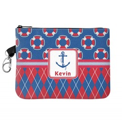 Buoy & Argyle Print Golf Accessories Bag (Personalized)