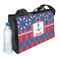 Buoy & Argyle Print Ladies Workout Bag (Personalized)